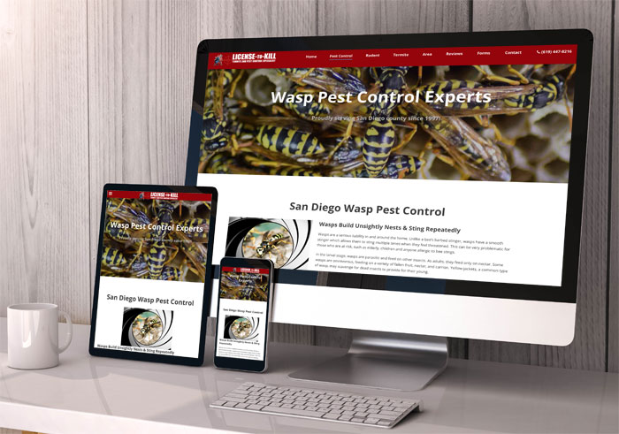 internet marketing pest control